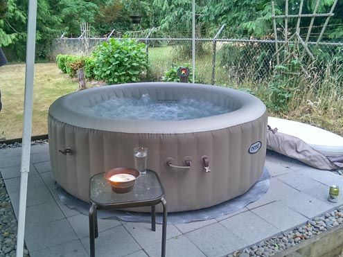 jacuzzi inflable jacuzzi pinterest jacuzzi. Black Bedroom Furniture Sets. Home Design Ideas