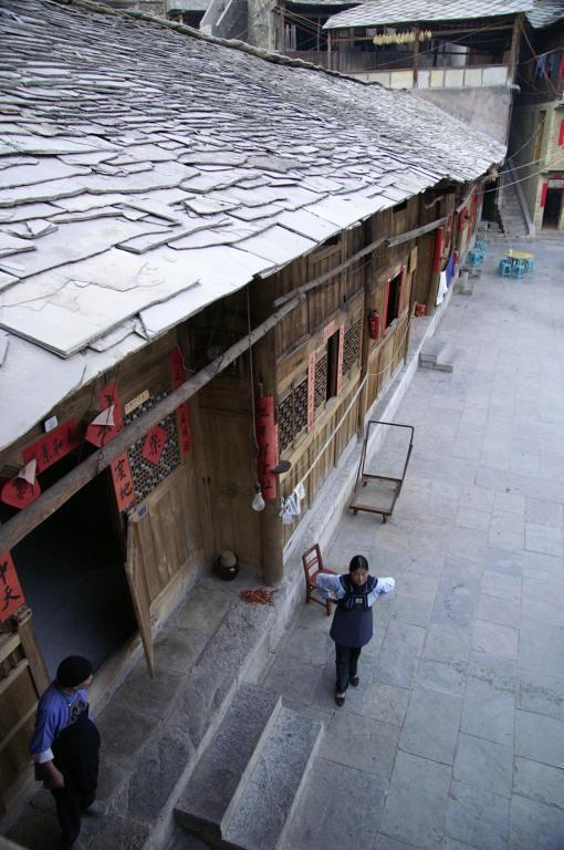 Сланцевые крыши Гуйчжоу, Китай