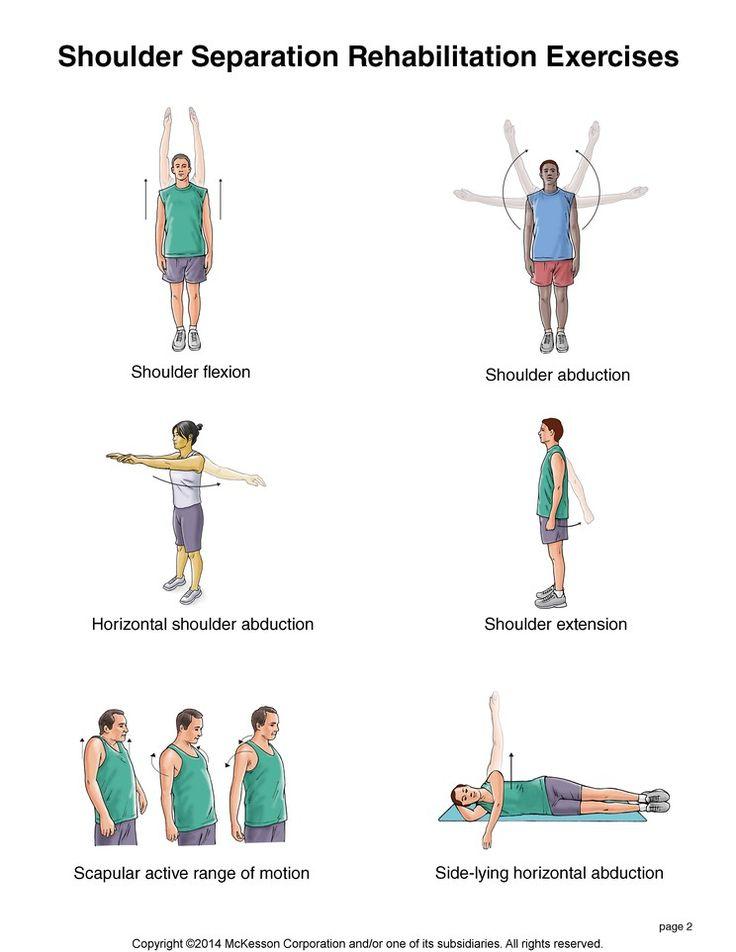 Summit Medical Group - Shoulder Separation Exercises ...