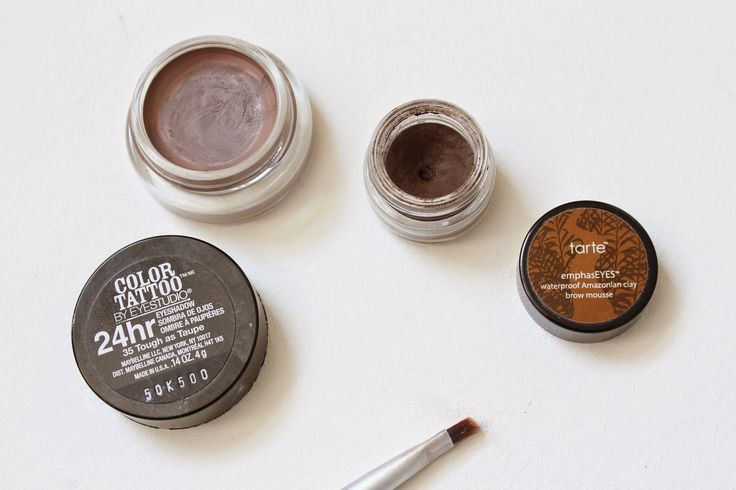 Best of the Brows / Maybelline Color Tattoo Tough as Taupe / Tarte Amazonian Clay Brow Mousse
