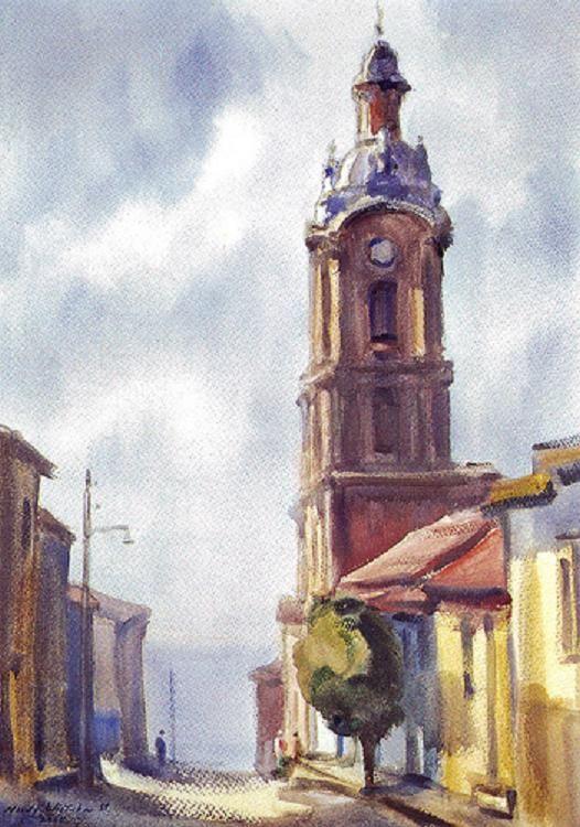 Acuarela de Hardy Wistuba watercolor