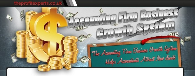NEW ACCOUNTING FIRM MARKETING SYSTEM has helped many struggling accountants turn their accounting firm   into a 7 or 8 Figure business in 12 months.  For more information : http://theprofitexperts.co.uk/Accounting_Firm_Business_Growth_System/