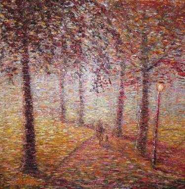 "Landscape Impressionism Artwork by Chris Quinlan - 39"" x 39""oil painting on canvas - quinlanart.com/114"