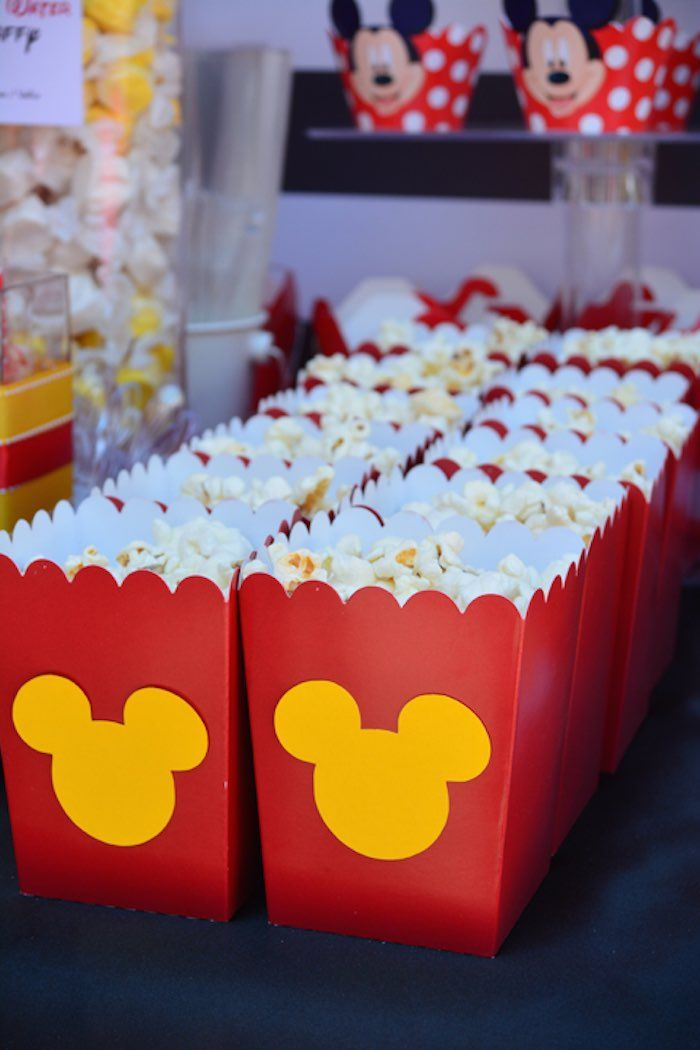 Mickey Mouse themed 1st birthday party via Kara's Party Ideas | KarasPartyIdeas.com (19)