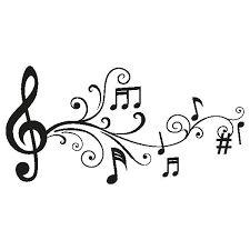 Resultado de imagen para notas musicales con estilo para dibujar