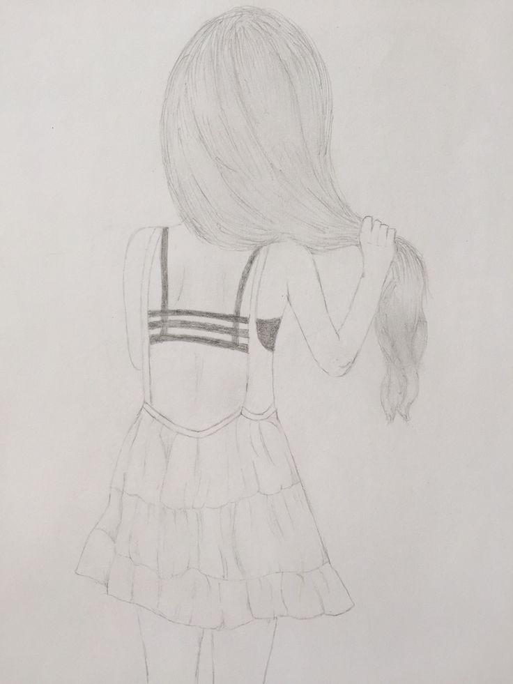 #dibujo #mujer #pelo