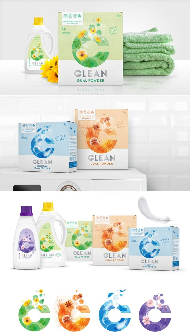 These Laundry Products Stand Out On The Shelves — The Dieline | Packaging & Branding Design & Innovation News
