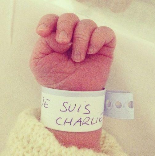 #JeSuisCharlie #baby