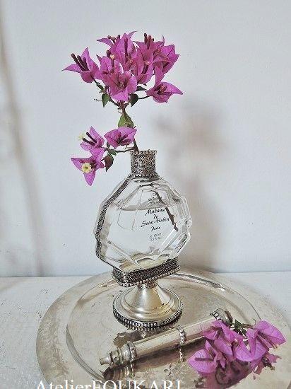 アラビアンナイトの香水瓶 KB-025- モロッコ雑貨とモロッコファッション|Atelier FOUKARI