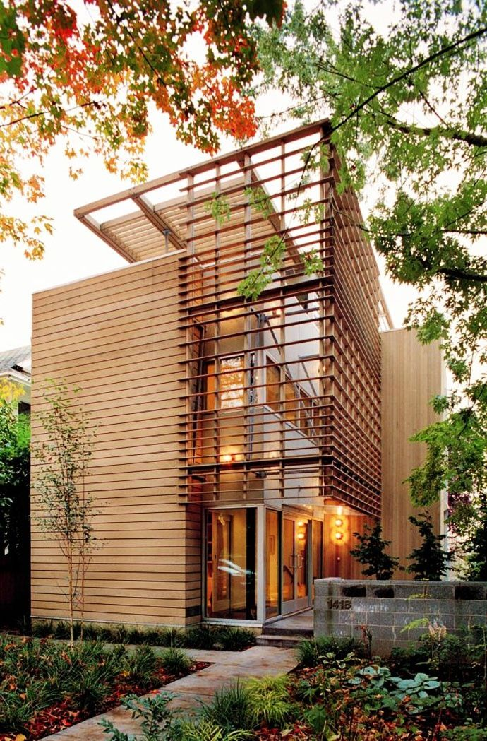 love the sustainable exterior