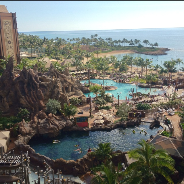 Hawaii: more specificly, Disney's Aulani Resort