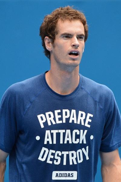 En nuestra gustada sección: La Playera del Día… les pasamos esta de Andy Murray