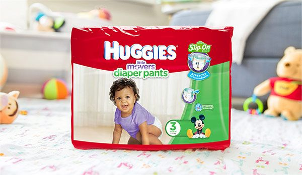 Huggies Little Movers Diaper Pants coupon