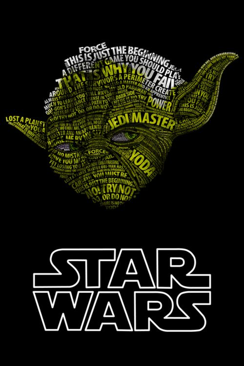 Star Wars Tipography Posters