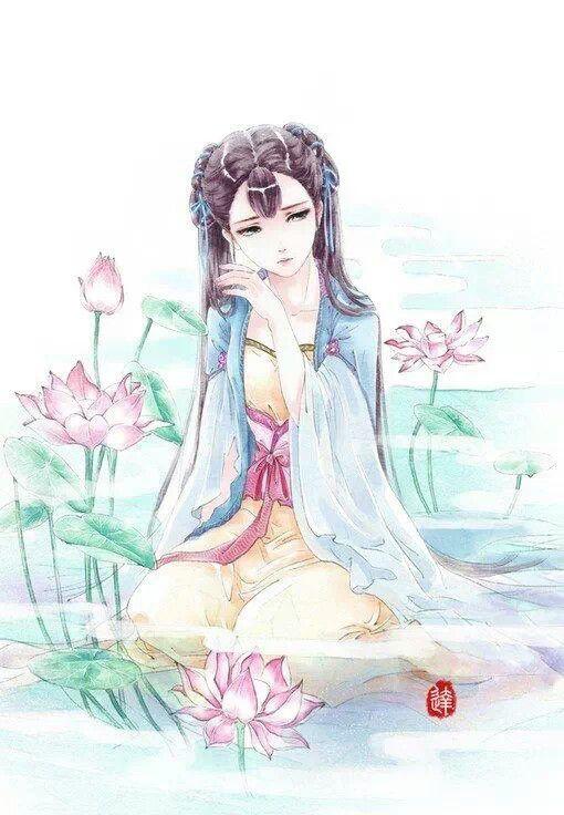 ❀雨轩_采集到≖‿≖✧古风——女子(1173图)_花瓣插画/漫画