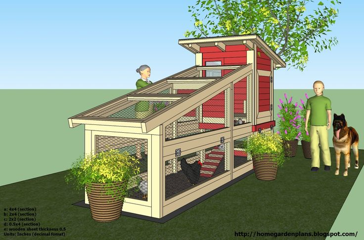 Free Online Chicken Coop Building Plans - WoodWorking Projects & Plans