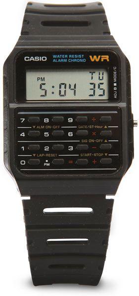 ThinkGeek :: Casio Classic Calculator Watch