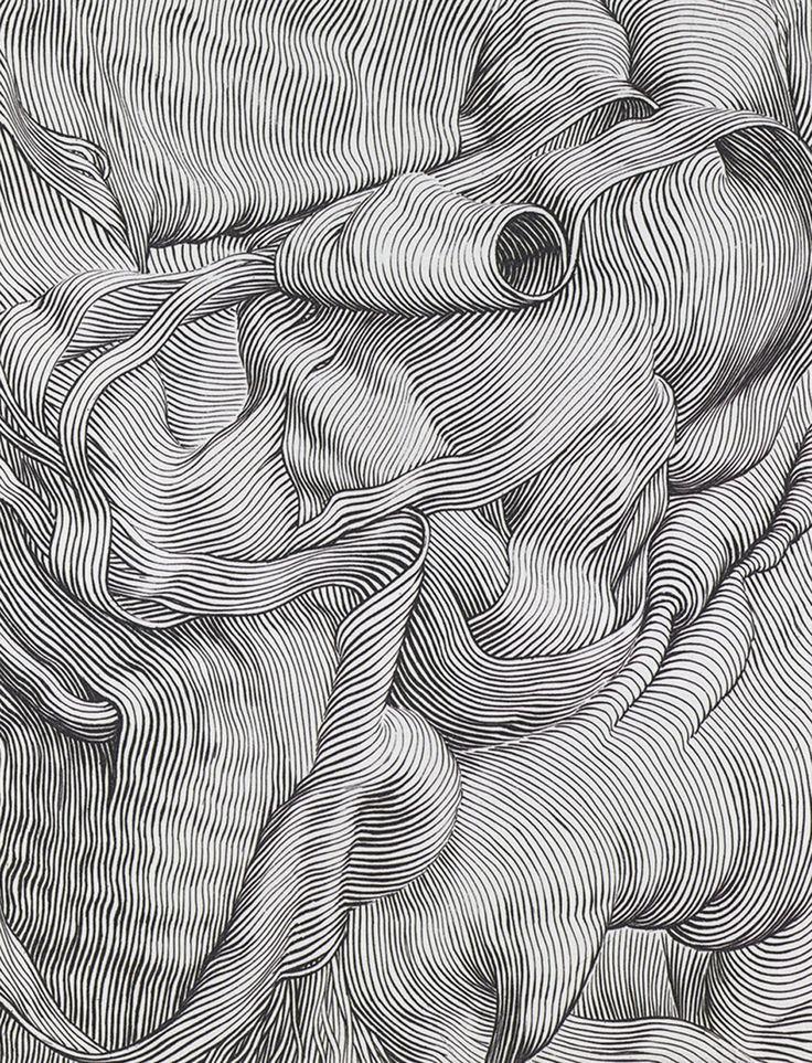 Markus Raetz - Husk - Engraving 1995