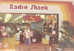 "Radio Shack...just filed chapter 11...soon to be a ""store long gone"""