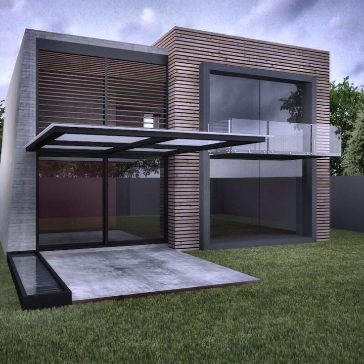 Modern House Design On Small Site Witin A Tight Budget: 8 Best Images About Small Modern House On Pinterest