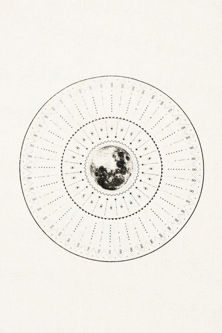Dharma avalanche print sacred geometry <3