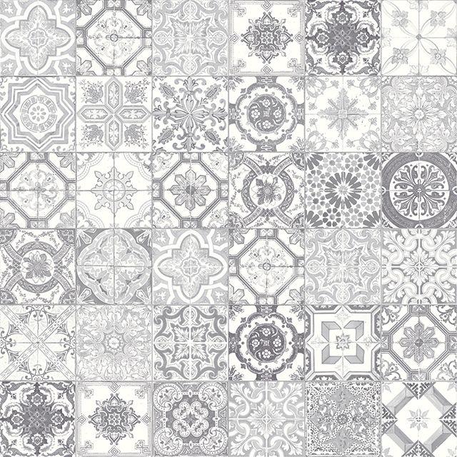 "Marrakesh Light Grey Mix 8""x 8"" Designer Matte Finish Tile"