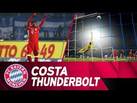 El misil de Costa decide el partido de la primera vuelta ante el SV Darmstadt 98 | Temporada 2016/17 - YouTube