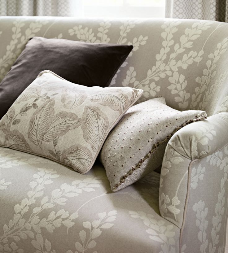 Greys | Colvelly Fabric by Sanderson | Jane Clayton