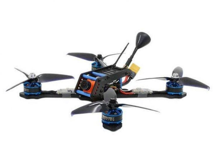 SPC Maker 220AR 220mm RC FPV Racing Drone BNF Omnibus F4 30A BLheli_s 40CH RunCam Swift 2 600TVL