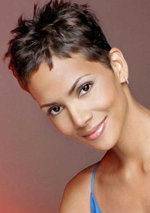 20 Best Halle Berry Short Haircuts  Short Pixie Haircuts