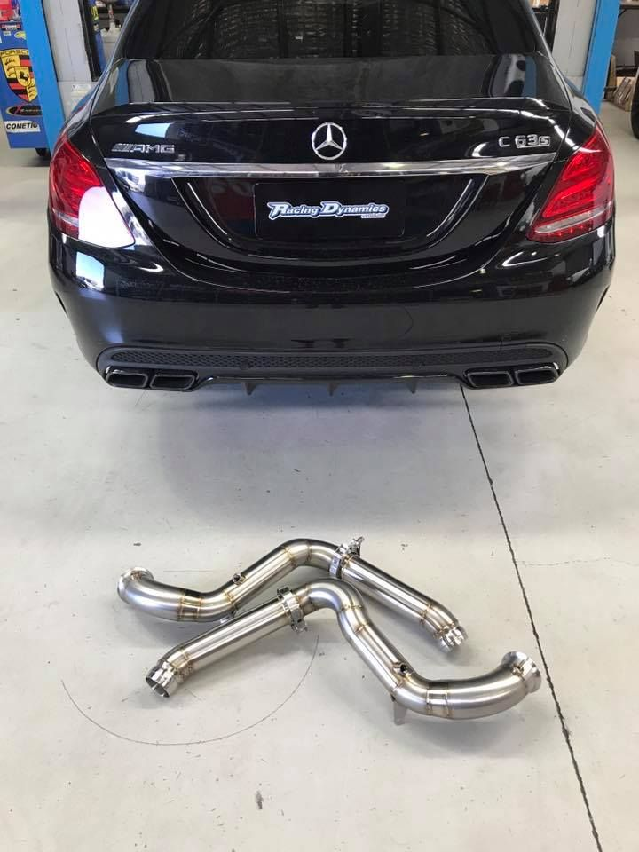 Amg Performance Exhaust System