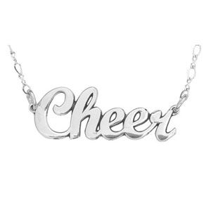 Cheer Necklace by Cheerleading Company