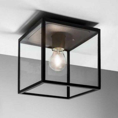 Donnez un style design à votre terrasse grâce à notre plafonnier extérieur Box de la collection d'Astro lighting - Livraison rapide et soignée.