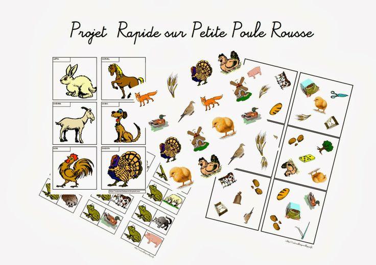 Maternelle et Direction de yann: Petite poule rousse