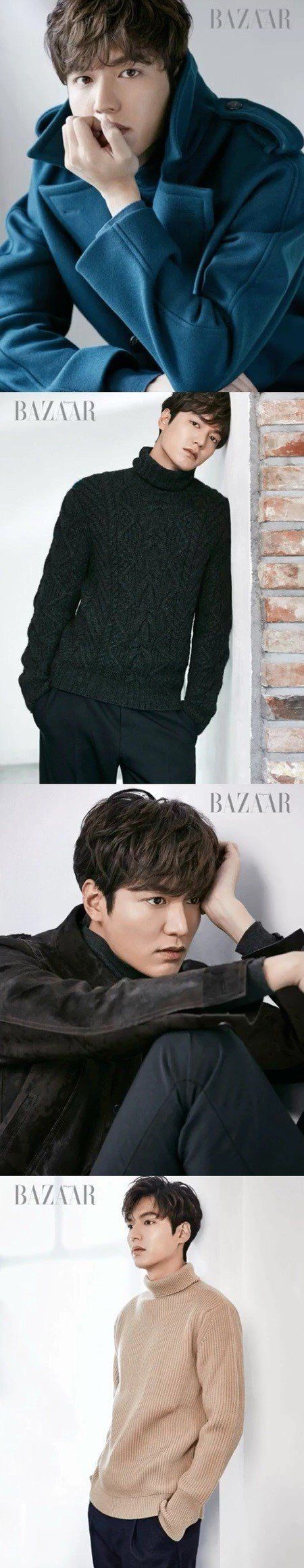 Lee Min Ho's perfect visuals shine even in b-cuts for 'Bazaar' | allkpop.com