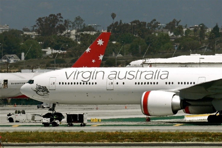 Virgin Australia New colors B 777 -300 + Tail of V Australia
