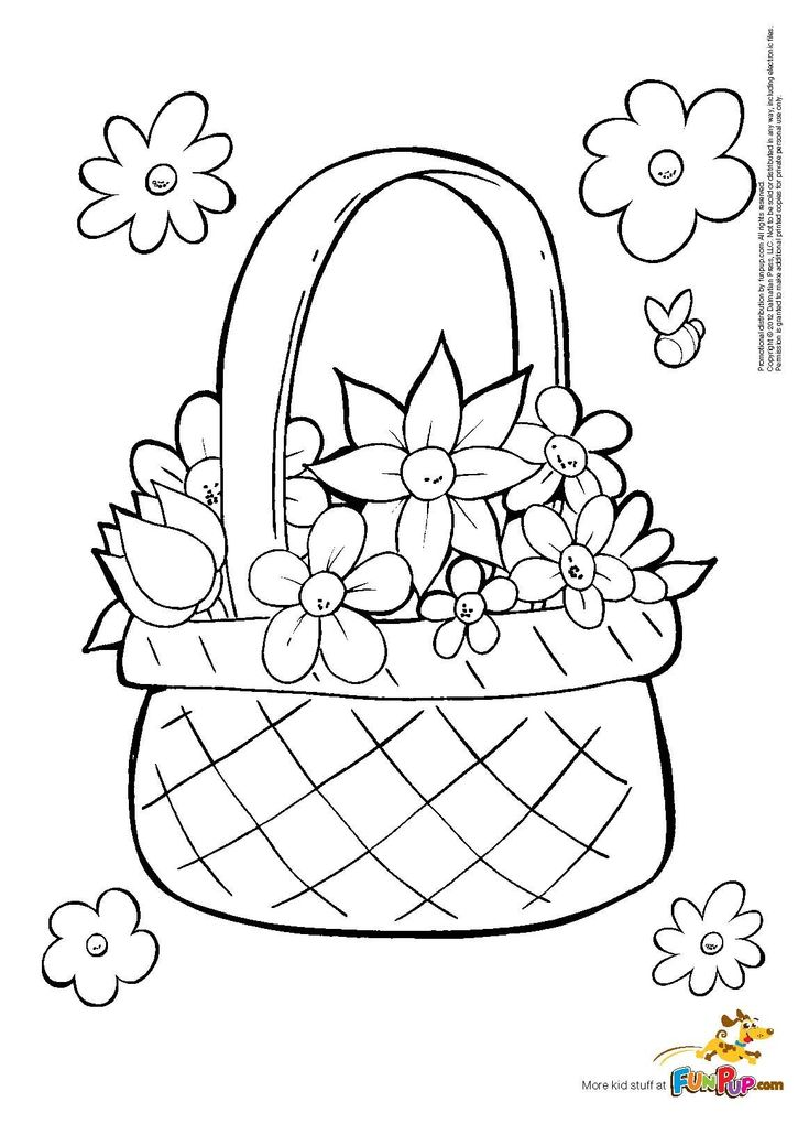 easy drawings of flowers - Google Search | Free printable ...