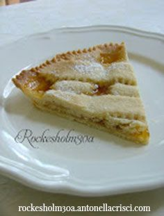 Tart with jam - Crostata con marmellata: to be enjoyed!!! This and much more for sale at Rockesholm30a!