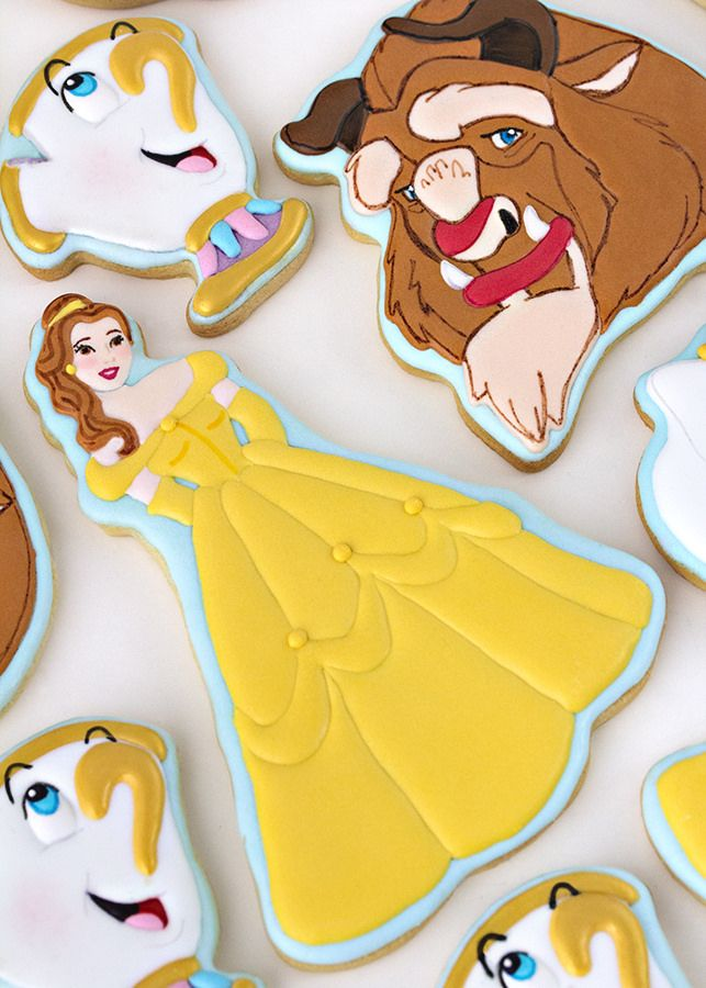 galletas bella y bestia