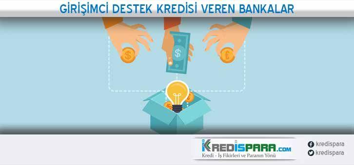 Girişimci kredisi almak istiyorum. Yeni girişimcilere destek kredisi veren bankalar  https://kredispara.com/girisimci-destek-kredisi-veren-bankalar/