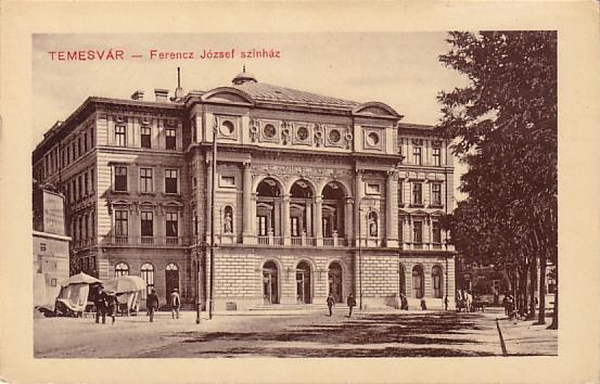 Timisoara - Teatrul - antebelica