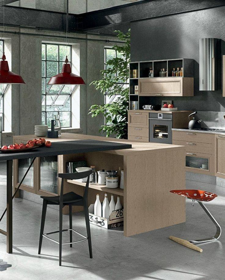 Mood metropolitano con un tocco vintage - Aran Cucine presenta Magistra @arancucineit