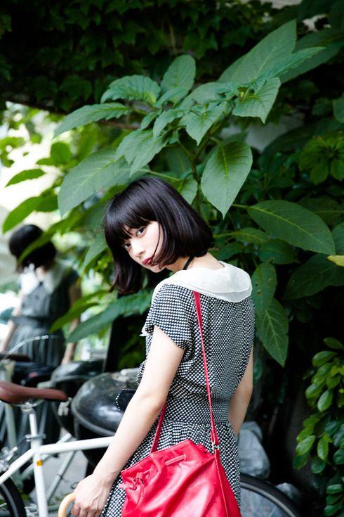 ストリートスナップ原宿 - 田中真琴さん - courrèges, TOKYO BOPPER, used, クレージュ, トーキョーボッパー, 古着