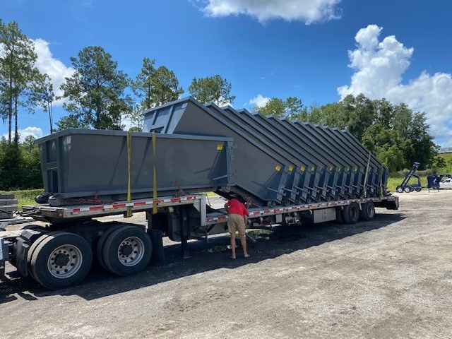 New Dumpsters For Sale In Deland Fl American Made Dumpsters In 2020 Dumpsters American Made Deland