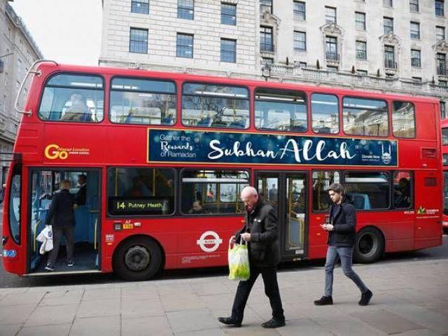 Ahead of Ramazan UK Muslim charity seeks to portray Islam in positive light through buses - The...