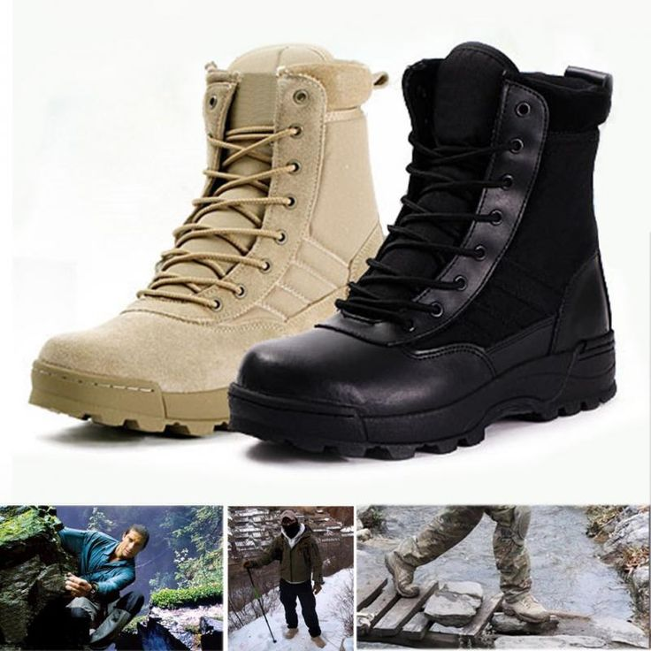 Winter Army Boots Mens Military Desert Boot Shoes Men Autumn Breathable Snow Ankle Boots