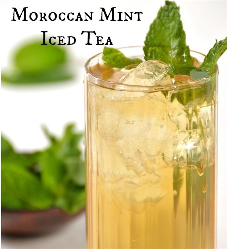 Our Moroccan Mint Iced Tea blends antioxidant rich organic green tea with heady mint. Healthy iced tea beverage with a clean, refreshing and lingering mint finish.