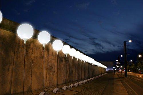 design-dautore.com: Lichtgrenze, 25 anni dalla caduta del Muro di Berlino