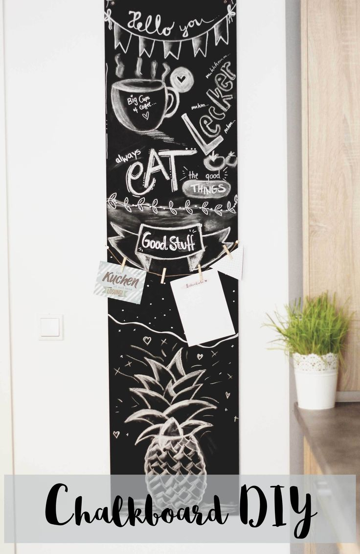 25 unique diy chalkboard ideas on pinterest chalk board. Black Bedroom Furniture Sets. Home Design Ideas