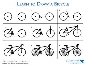 Learn To Draw a Bicycle| Activity In a Cloud of Dust by Alma Fullerton and Brian Deines. Grades K–3